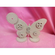 4mm MDF Steampunk butterfly